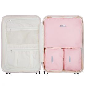 Sada obalů SUITSUIT® Perfect Packing system vel. M Pink Dust