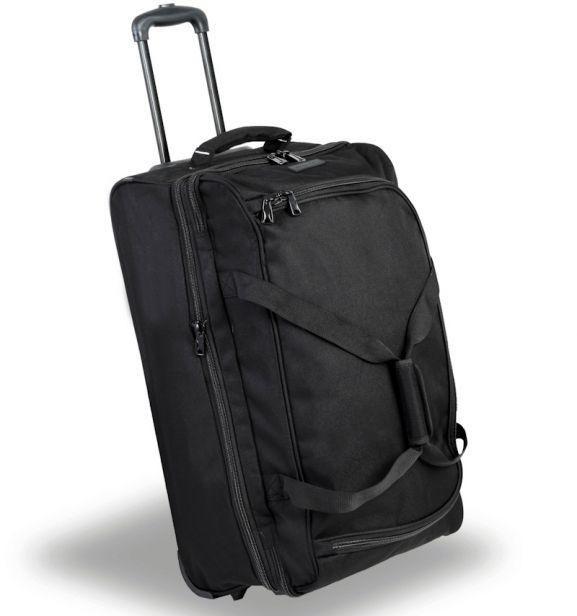 Cestovní taška na kolečkách MEMBER'S TT-0030 - černá