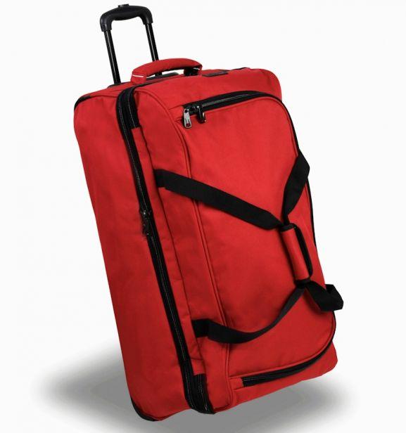 Cestovní taška na kolečkách MEMBER'S TT-0032 - červená