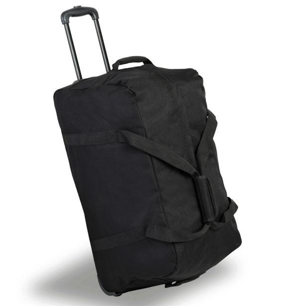 Cestovní taška na kolečkách MEMBER'S TT-0034 - černá