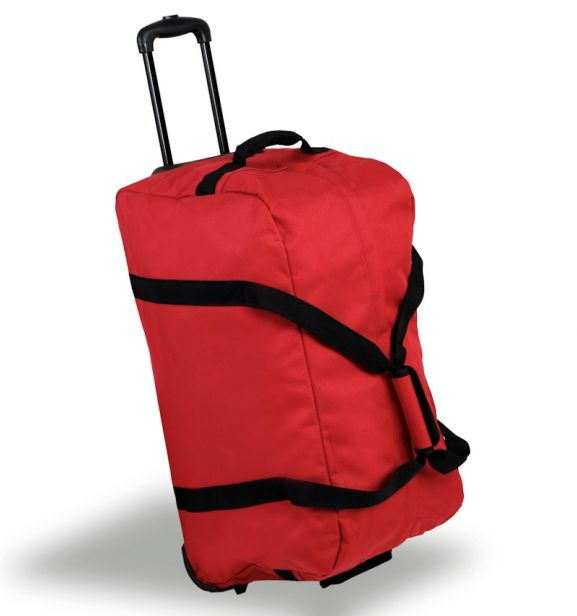 Cestovní taška na kolečkách MEMBER'S TT-0034 - červená