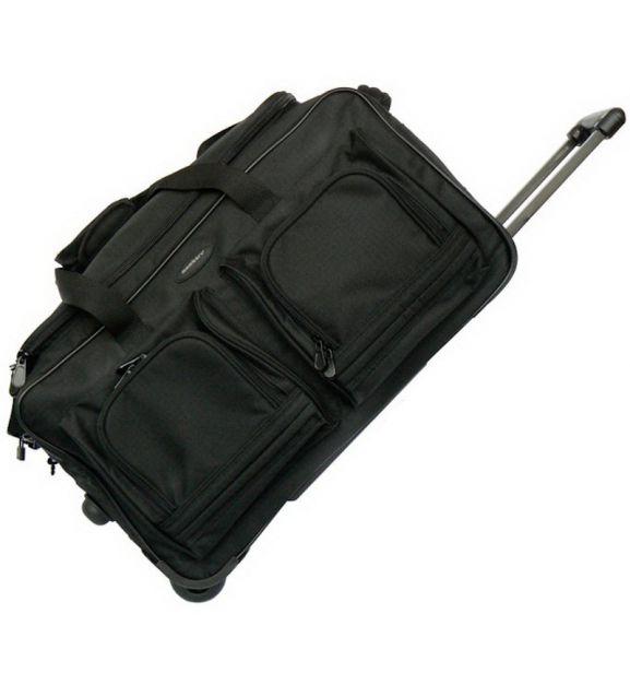 Cestovní taška na kolečkách MEMBER'S TT-0005 - černá