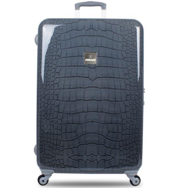 Cestovní kufr SUITSUIT® TR-1135N/3-60 - Grey Crocodile New