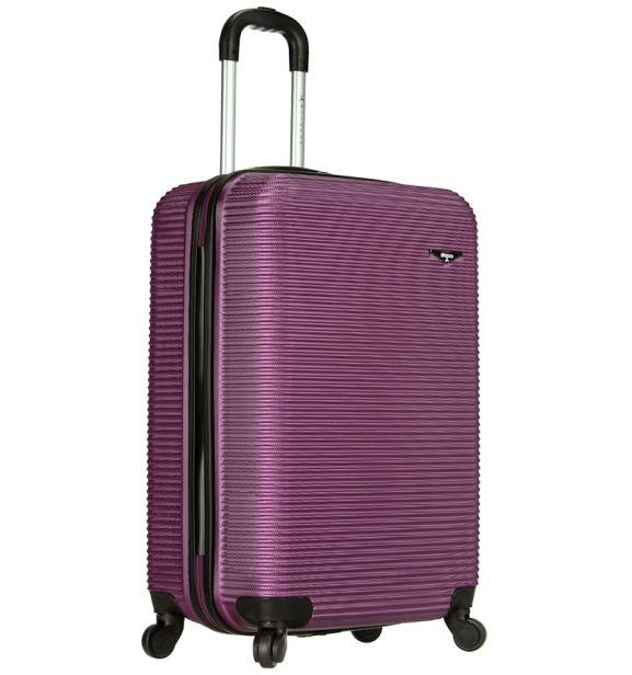 Kabinové zavazadlo SIROCCO T-1039/3-50 ABS - fialová