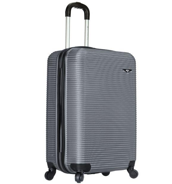 Kabinové zavazadlo SIROCCO T-1039/3-50 ABS - stříbrná