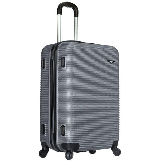 Cestovní kufr SIROCCO T-1039/3-70 ABS - stříbrná