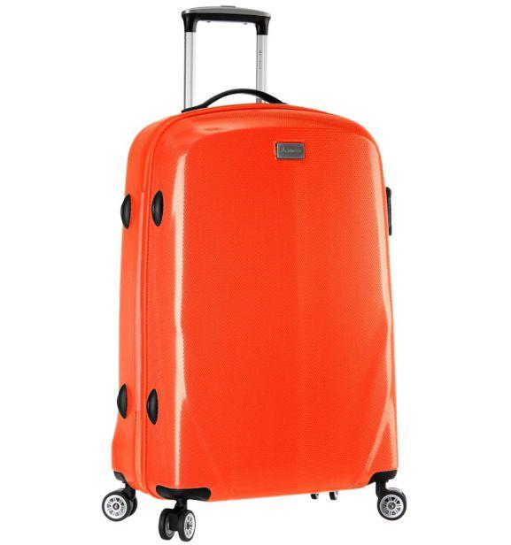 Cestovní kufr SIROCCO T-924/3-70 PC - oranžová
