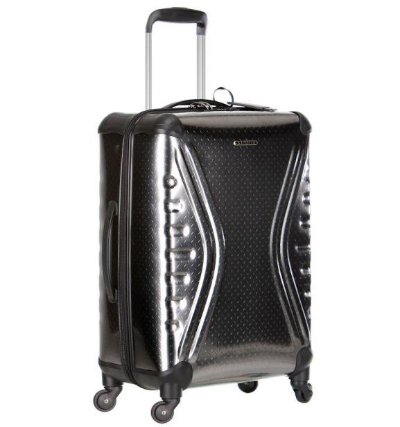 Cestovní kufr SIROCCO T-1079/3-70 PET - metallic