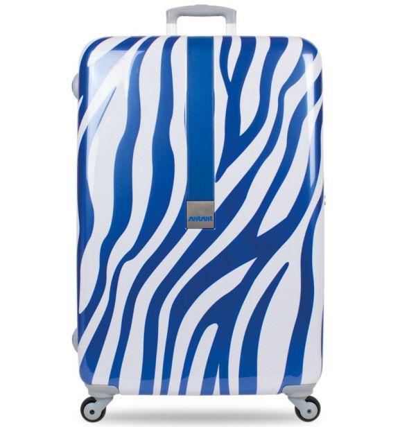 Cestovní kufr SUITSUIT® TR-1218/3-60 - African Blue Zebra