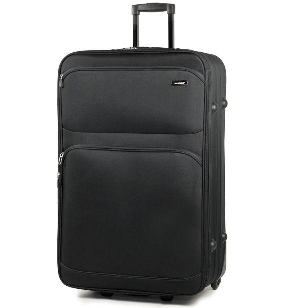 Cestovní kufr MEMBER'S TR-0135/4-70 - černá - 2. jakost