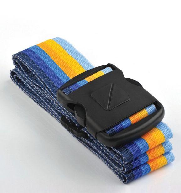 Bezpečnostní popruh na kufr TravelBlue TB040-1 multi-colour