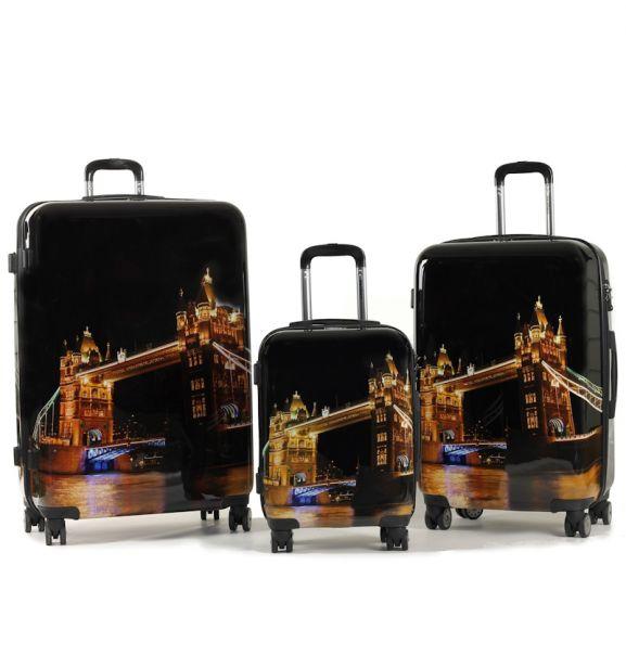 Sada cestovních kufrů MEMBER'S TR-0140/3 PC - Night