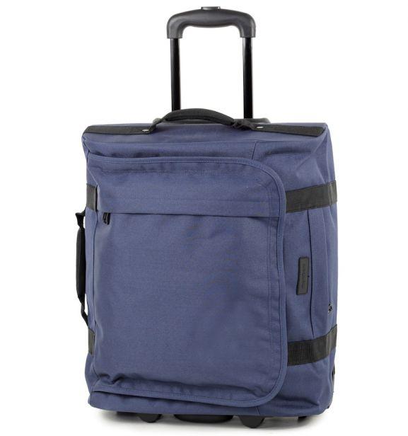 Cestovní taška na kolečkách MEMBER'S TT-0037 - modrá