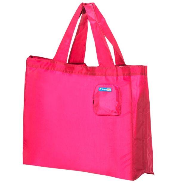 Skládací nákupní taška TravelBlue TB053 - růžová