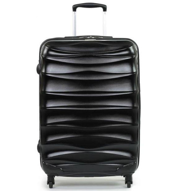 Cestovní kufr MEMBER'S TR-0117/3-70 PET - černá