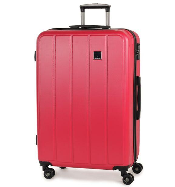 Cestovní kufr MEMBER'S TR-0136/4-70 ABS - růžová