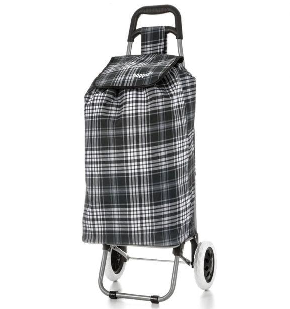 Nákupní taška na kolečkách HOPPA ST-145 - černá