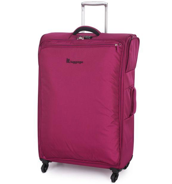 Cestovní kufr IT Luggage Carry-Tow TR-1157/3-L - červená