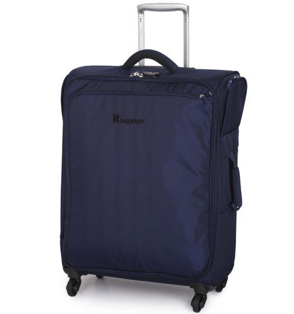 Cestovní kufr IT Luggage Carry-Tow TR-1157/3-M - modrá