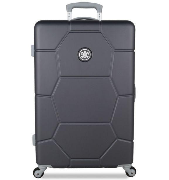 Cestovní kufr SUITSUIT® TR-1226/3-M ABS Caretta Cool Gray