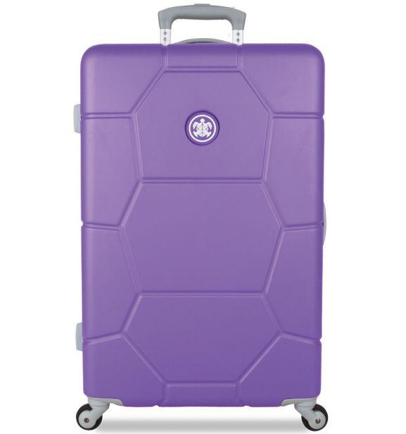 Cestovní kufr SUITSUIT® TR-1230/3-M ABS Caretta Purple Heart