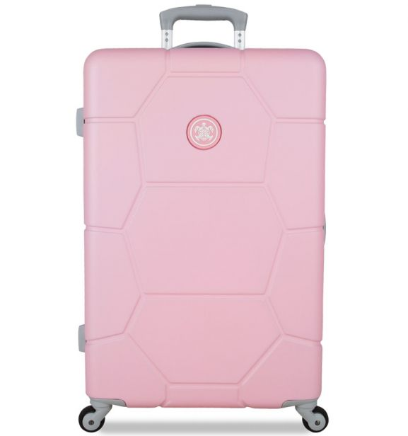 Cestovní kufr SUITSUIT® TR-1231/3-M ABS Caretta Pink Lady