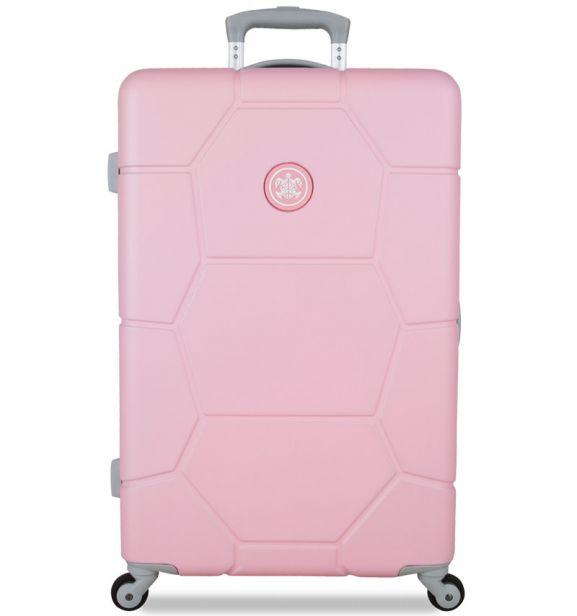 Cestovní kufr SUITSUIT® TR-1231/3-M ABS Caretta Pink Lady - 2. jakost
