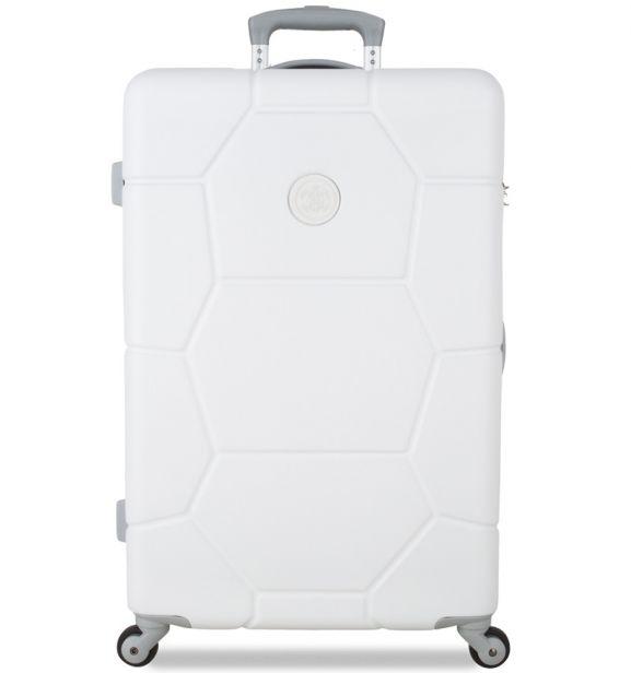Cestovní kufr SUITSUIT® TR-1232/3-M ABS Caretta Sea Shell White