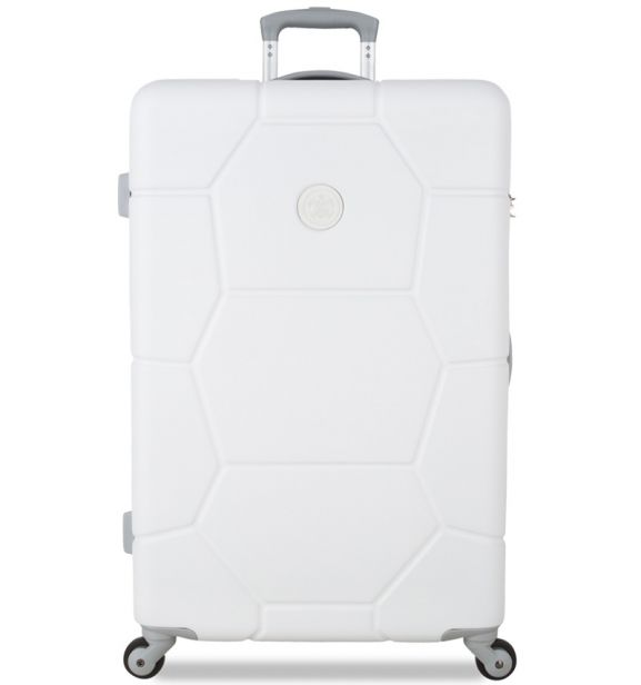 Cestovní kufr SUITSUIT® TR-1232/3-L ABS Caretta Sea Shell White