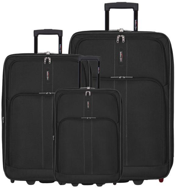 Sada cestovních kufrů Western Gear T-603WG/3 - černá