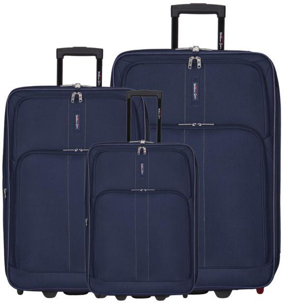 Sada cestovních kufrů Western Gear T-603WG/3 - modrá