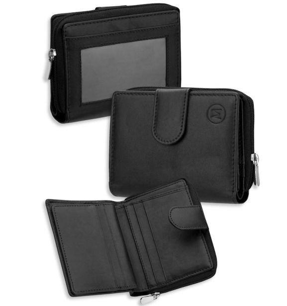 Dámská kožená peněženka METRO P04 - fialová