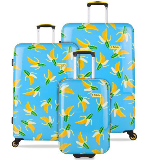 Sada cestovních kufrů B.HPPY BH-1601/3 - Bananauwch!