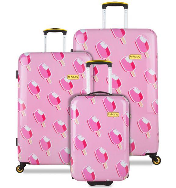 Sada cestovních kufrů B.HPPY BH-1602/3 - Ice on Holiday