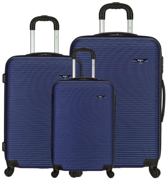 Sada cestovních kufrů SIROCCO T-1039/3 ABS - modrá