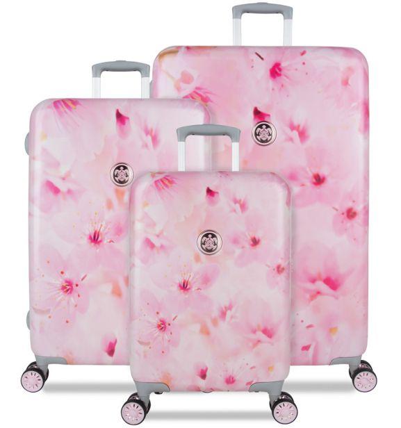 Sada cestovních kufrů SUITSUIT® TR-1224/3 - Sakura Blossom