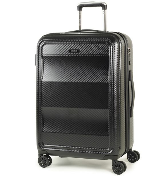 Cestovní kufr ROCK TR-0147/3-M PC - černá