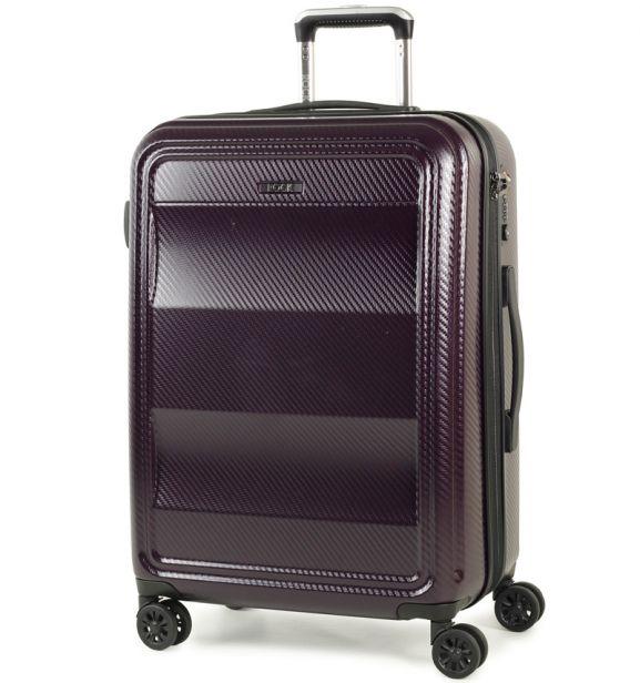 Cestovní kufr ROCK TR-0147/3-M PC - fialová