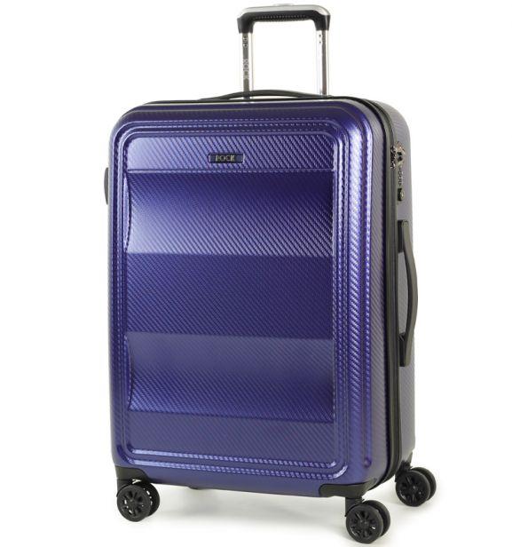 Cestovní kufr ROCK TR-0147/3-M PC - modrá