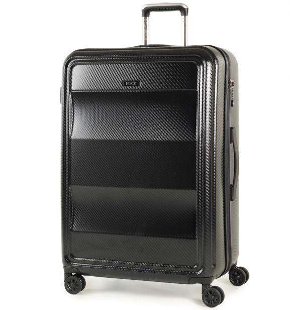 Cestovní kufr ROCK TR-0147/3-L PC - černá