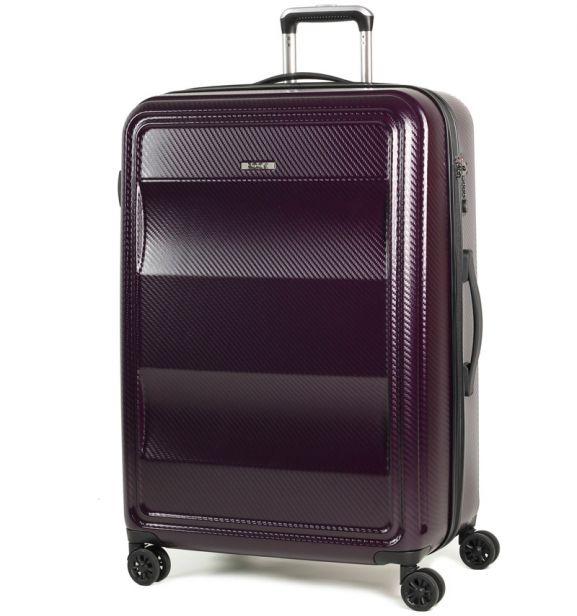 Cestovní kufr ROCK TR-0147/3-L PC - fialová