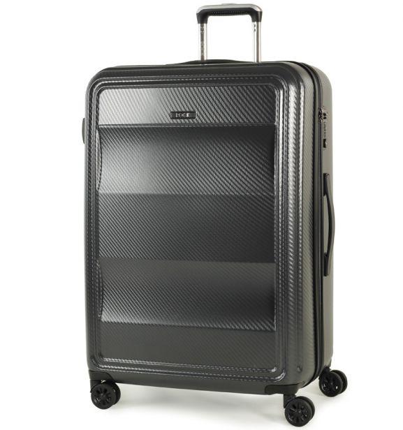 Cestovní kufr ROCK TR-0147/3-L PC - charcoal