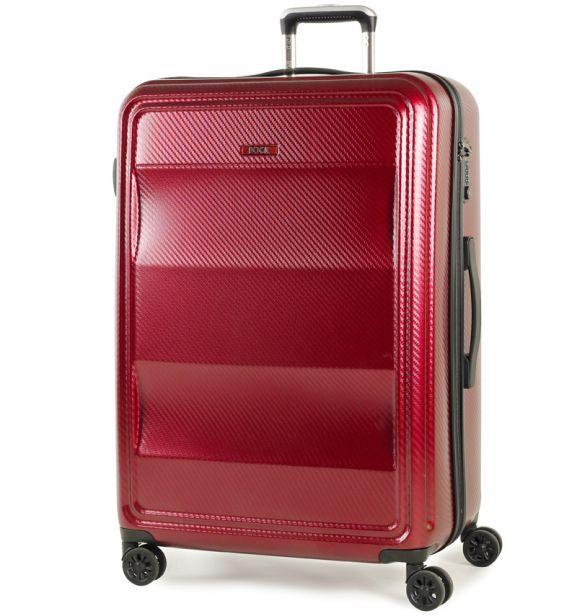 Cestovní kufr ROCK TR-0147/3-L PC - vínová
