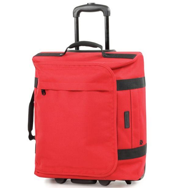Cestovní taška na kolečkách MEMBER'S TT-0037 - červená