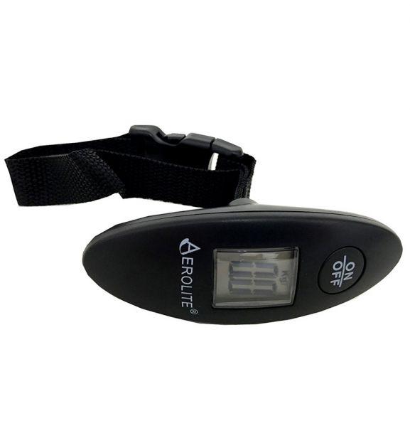 Váha na zavazadla AEROLITE LS012 - černá