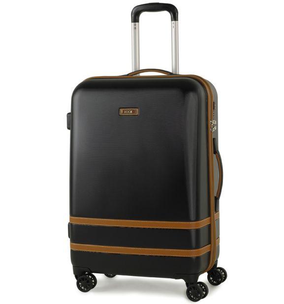Cestovní kufr ROCK TR-0152/3-M ABS - černá