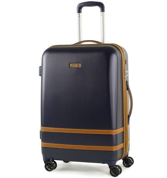 Cestovní kufr ROCK TR-0152/3-M ABS - modrá