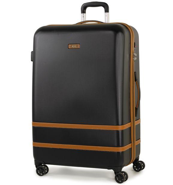 Cestovní kufr ROCK TR-0152/3-L ABS - černá