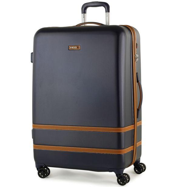 Cestovní kufr ROCK TR-0152/3-L ABS - modrá