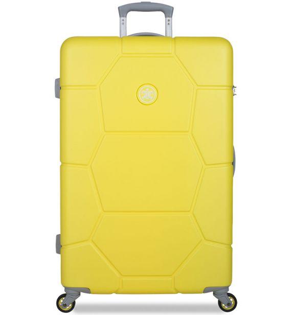 Cestovní kufr SUITSUIT® TR-1242/3-L ABS Caretta Blazing Yellow